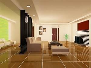House Model Interior Furniture Scene
