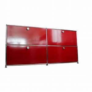 Usm Haller Deutschland : usm haller sideboard 4 klappen rot ebay ~ Orissabook.com Haus und Dekorationen
