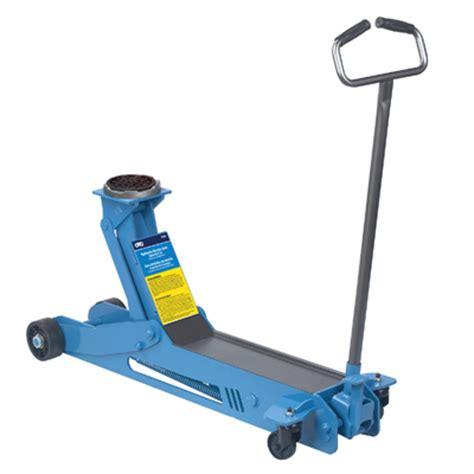 otc floor aluminum otc 5206 service lifting equipment