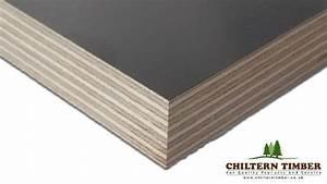 Plywood – Phenolic Face WBP Birch 2440 x 1220 x 18mm