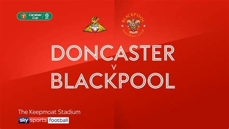 Doncaster 1 - 2 Blackpool - Match Report & Highlights