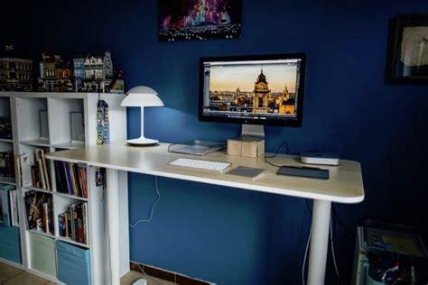 standing desks   home office man