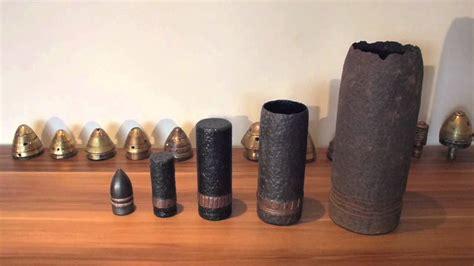 Ww1 57mm And 40mm Artillery Shells