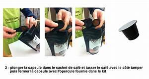 Sachets De Thé À Remplir : remplir ses capsules nespresso caf s marc ~ Melissatoandfro.com Idées de Décoration