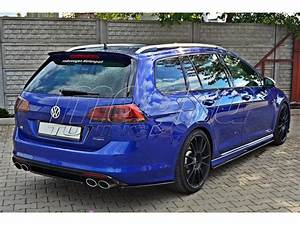 Vw Golf 7 R Tuning : vw golf 7 r variant meteor rear bumper extension ~ Jslefanu.com Haus und Dekorationen
