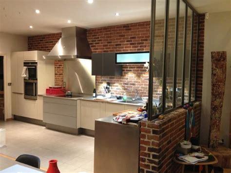 cuisine loft industriel cuisine dans loft yorkais