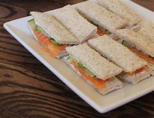 Smoked Salmon and Cucumber Finger Sandwiches | The Modern ...