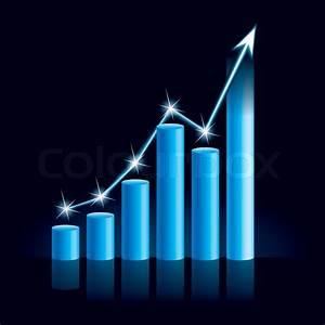 Illustration Of Growing Bull Trend Chart
