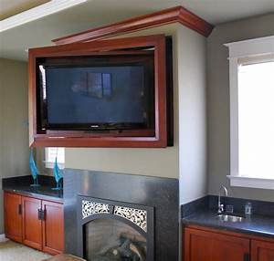 Entertainment Center with Hidden Tv - Traditional - Home