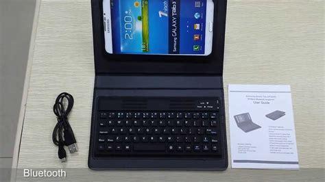 bluetooth keyboard case  samsung galaxy tab   p p   youtube