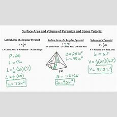 Surface Area And Volume Of Threedimensional Objects Youtube