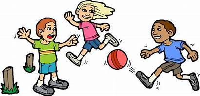 Playing Clip Physical Children Activities Students Health