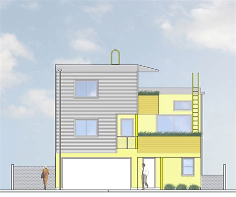 5936 barton ave front elevation design urbanrock design