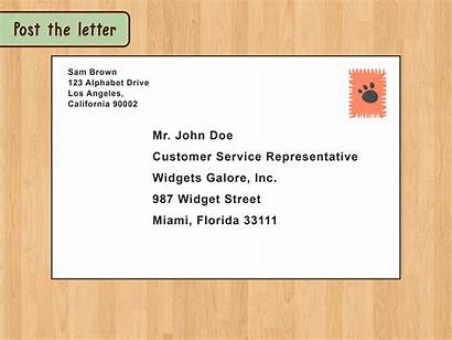 Letter Address Write Business Format Send Envelope
