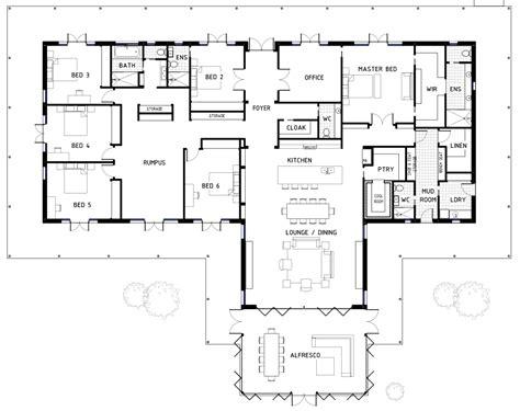 6 bedroom house floor plans 17 best 6 bedroom house floor plans house plans 43867