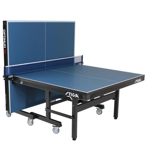 Best Ping Pong Tables by Stiga Optimum 30 Table Tennis Table