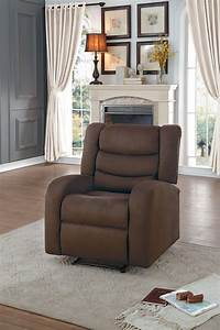 Earl reclining chair chocolate fabric furniture for Furniture mattress outlet of sanford