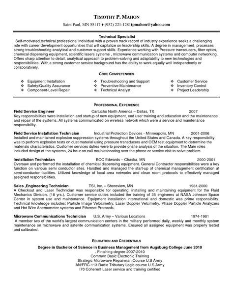 field service manager cover letter brilliant ideas of mri service engineer sle resume
