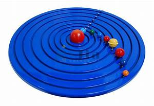 Montessori Equipment -geography Solar System Wooden ...