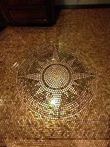 Penny Floor - Contemporary - Flooring - minneapolis - by