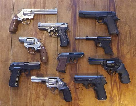 Different Types of Guns and Gun Safety Tips