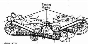Finding Timing Marks 2009 Subaru Sohc