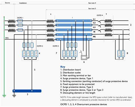3 phase surge protector wiring diagram surge protector