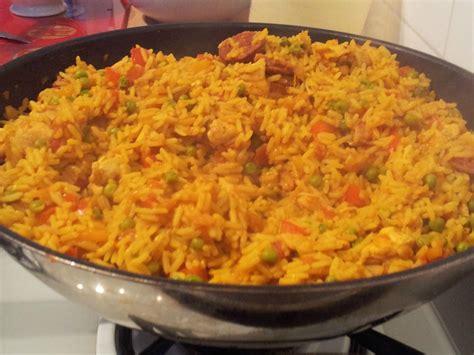recette de cuisine anglaise riz au poulet à l 39 espagnole recette az