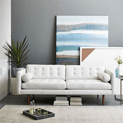 White Loveseats by White Modern Sofas Concepts And Colorways