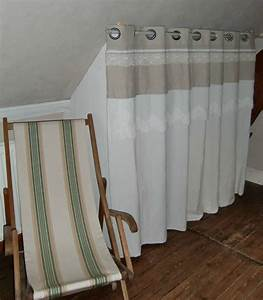 Rideau De Placard : rideaux de placards blanche l 39 a fait ~ Teatrodelosmanantiales.com Idées de Décoration