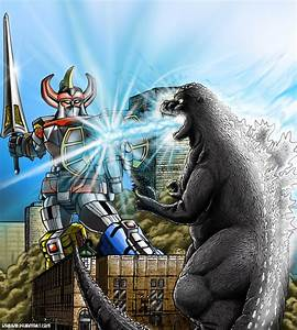 Godzilla vs. The Megazord, Commission by kaijukid on ...