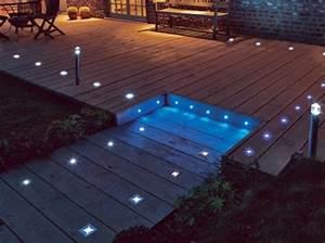 Eclairage Terrasse Piscine : les 25 meilleures id es de la cat gorie eclairage piscine sur pinterest eclairage exterieur ~ Melissatoandfro.com Idées de Décoration