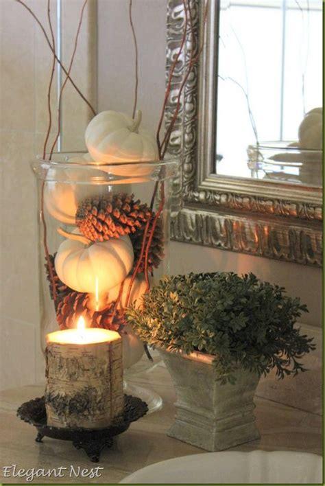 fall bathroom decorating ideas easy diy ideas  involvery
