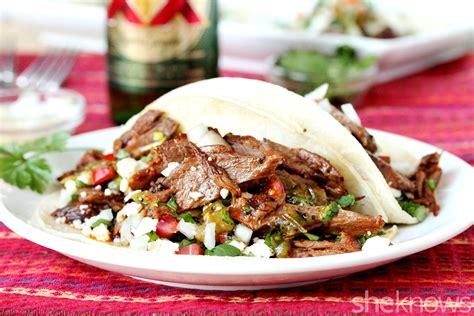 slow cooker carne asada   taco tuesdays