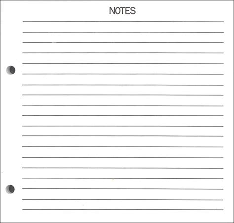 notes page template 8 best images of printable lined note pages free printable lined note pages lined paper