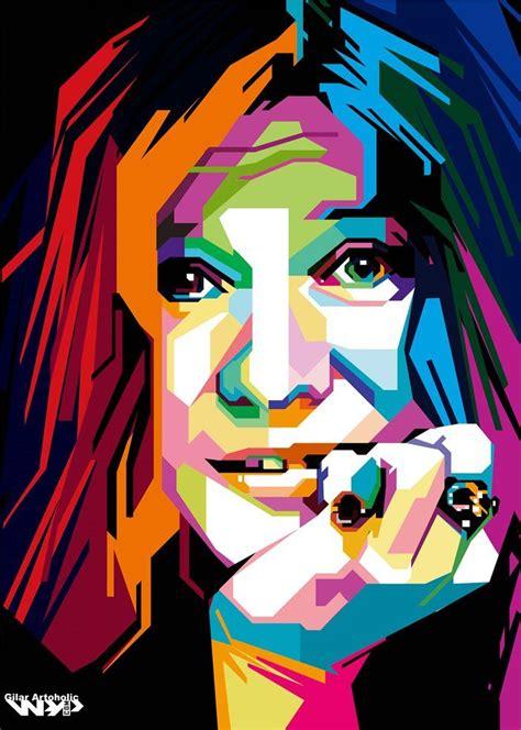 janis joplin wpap artoholic   pop art portraits