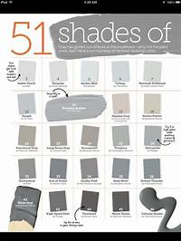 shades of grey color 51 shades of gray paint | Home Sweet Home | Pinterest
