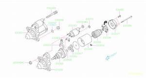 Subaru Tribeca Starter Motor  Engine
