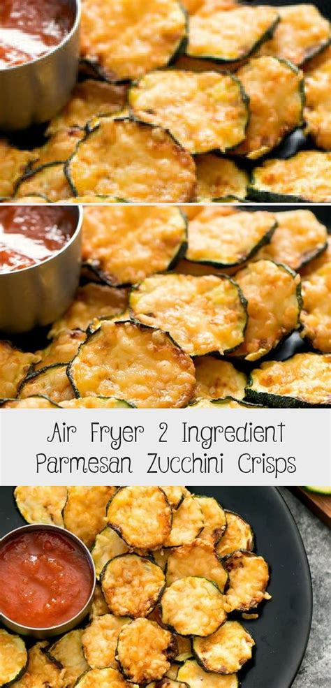 air zucchini fryer parmesan crisps ingredient chips recipes makalenin kayna etkenhaber keto recipe