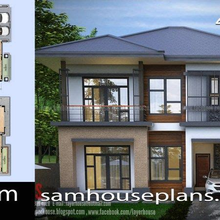 House Plans 7x12m with 4 Bedrooms Plot 8x15 House plans