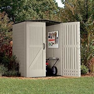 Rubbermaid Medium Vertical Storage Shed by View Larger