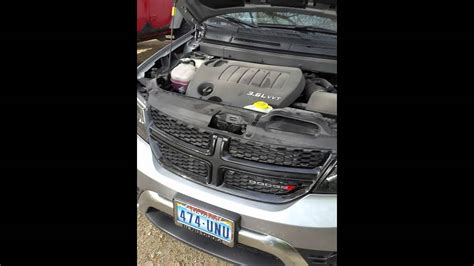 How to jump start a dodge journey with hidden battery