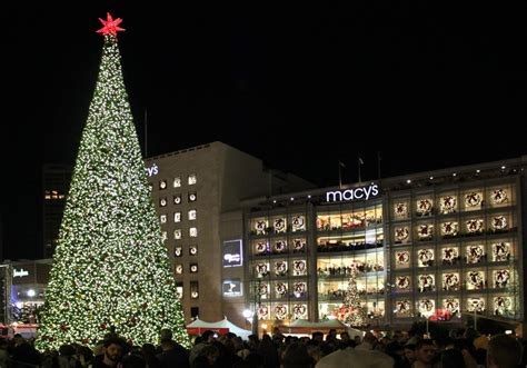 photos 2012 san francisco union square macy s christmas