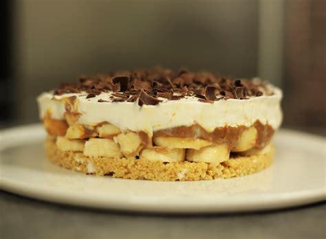 hervé cuisine pizza recette facile de la banoffee pie ou tarte banane caramel