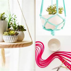 Pot De Fleur Suspendu : diy pot de fleur suspendu 2 tutos de d co avec ~ Premium-room.com Idées de Décoration