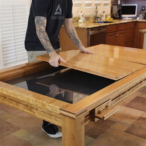game table building plans wood whisperer guild diy game table pinterest