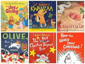 25 Holiday and Christmas Books for Kids – Whooo's Reading Blog