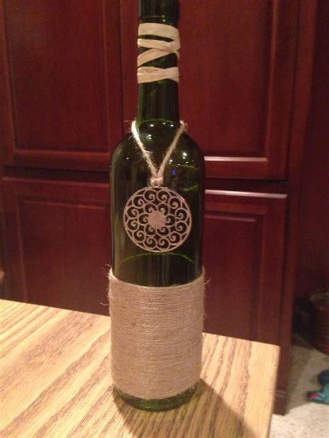 decorative wine bottles crafts 53 best images about the crafts i made on