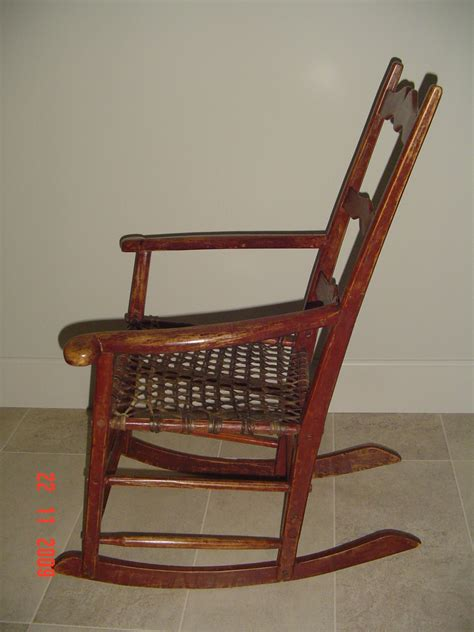 Antique Pine Rocking Chair  Antique Furniture