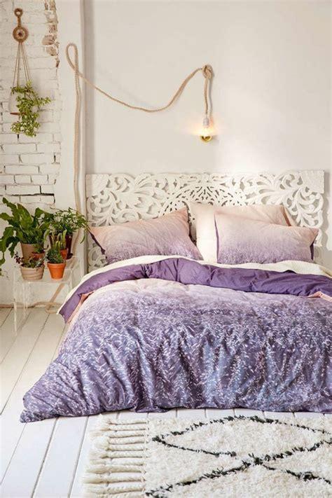 chambre a coucher violet et gris 1001 idées pour la décoration d 39 une chambre gris et violet